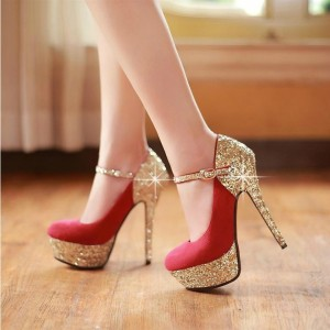 High Heel Shoe Platform Hasp Single