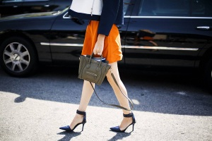 Street Style Shoes at New York Fashion Week
